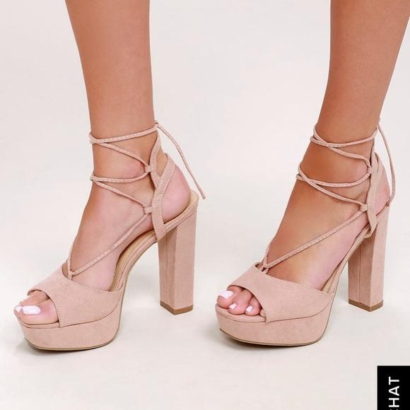 af5399108a0 Lulus SILVER wrap heels